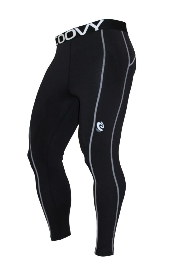 Coovy Mens Sports Winter Thermal Compression Under