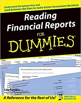 Reading Financial Reports For Dummies (For Dummies