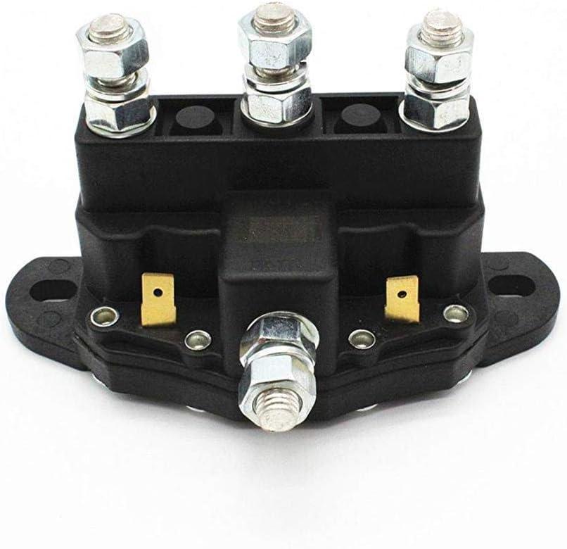 Relé electromagnético de contactor eléctrico de 12V voltios Interruptor de solenoide de inversión del Motor del cabrestante 6 Borne de Contacto # 24450BX 6660-110