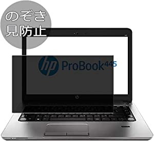 "Synvy Privacy Screen Protector Film for HP ProBook 445 G1 14"" Anti Spy Protective Protectors [Not Tempered Glass]"