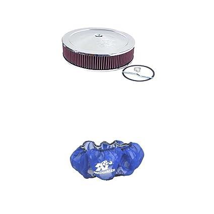K/&N E-1650PL Blue Precharger Filter Wrap For Your K/&N 60-1264 Filter