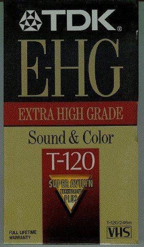 TDK Extra High Grade T-120 (2 Pack)
