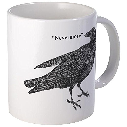 (CafePress Nevermore Raven Mug Unique Coffee Mug, Coffee)