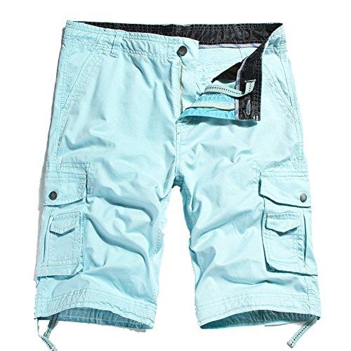Blue Plaid Seersucker Skirt - 5
