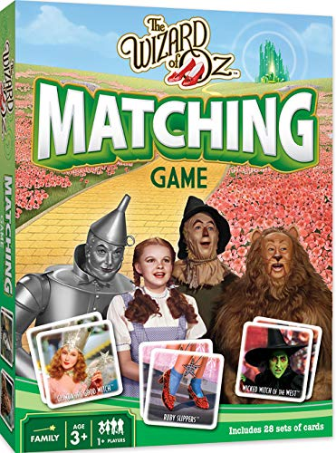 MasterPieces Wizard of Oz Matching Game, Includes 28 Set of Cards, 1 or More Players, for Ages 3+
