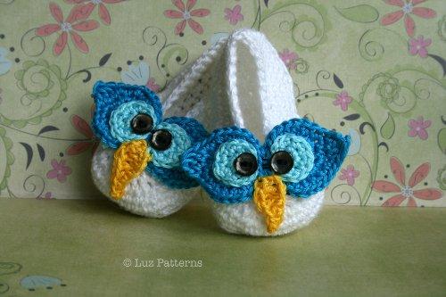 Crochet Book Baby Owl Boots Crochet Pattern Baby Booties Pattern