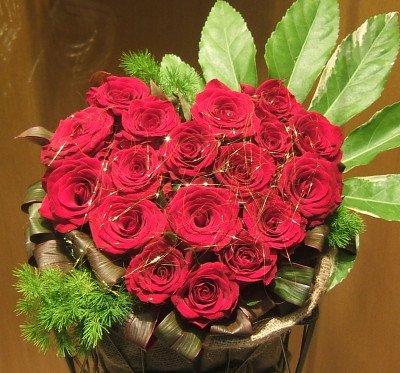 開店祝い 誕生日 人気ランキング プレゼント おまかせ ハート赤バラアレンジメント お祝い B00UGBIE2Y