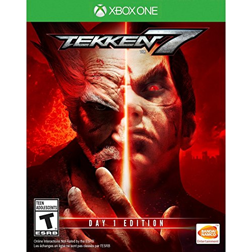 Tekken 7 Day 1 Edition for Xbox One rated T - Teen