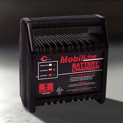 Cliplight 12 Volt, 6 Amp Battery Charger - Automotive, Scooter, Golf Caddie, Electric Bike