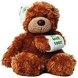 Aurora Bears 9-inch Bonnie Get Well Bear Plush (Dark Brown)