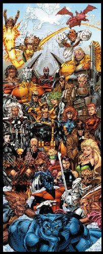 X-Men By Jim Lee Door Poster