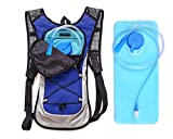 Hydration Backpack&Best Outdoor Gear for Running, Hiking, Cycling and More&Lightweight Pack Keeps Liquid Cool Up to 4 Hours&All Other Outdoor Sports Where You Need Water (Blue)