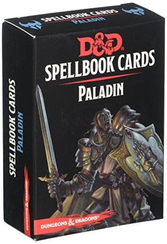 Gale Force 9 Paladin Deck Dungeons & Dragons Spell Book Cards by Gale Force 9