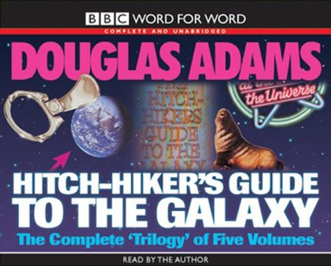 The Hitch Hiker's Guide to the Galaxy With 'the Restaurant at the End of the Universe ', 'Life , the Universe and  Everything ', 'So Long , and Thanks (Pub At The End Of The Universe)