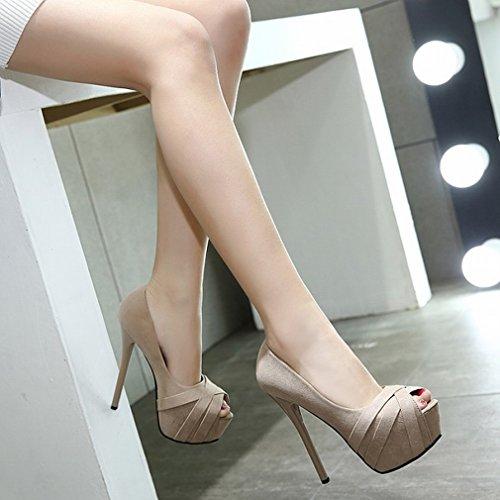 Ly Sexy Con Sottile Ultra Tacchi Sottili I Alti B Sandali 15cm IWcOIrqR