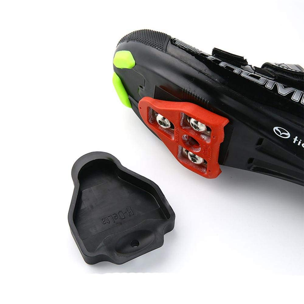 Thinvik Cleat Covers Bicycle Shoe Clipless Protector for Look Delta Pedal Cleats Systems(1 Pair) by Thinvik (Image #4)