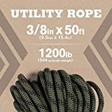 """Atwood Rope MFG 3/8"""" inch 50ft Braided Utility"""