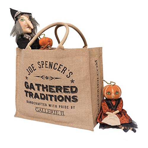 GALLERIE II Gathered Traditions Halloween Tote Bag]()