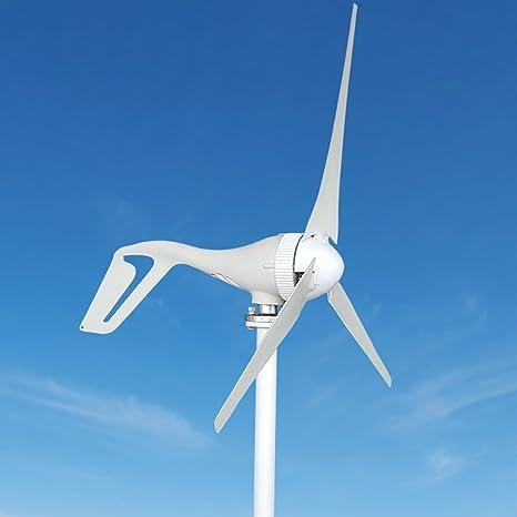 99ad689ef17 Aerogenerador TOPQSC Generador de Turbina Eólica 300W DC 12V Generador de  Viento con Alta Eficacia 3 Hojas Turbina de Viento Suministro de Energía  Sistema ...