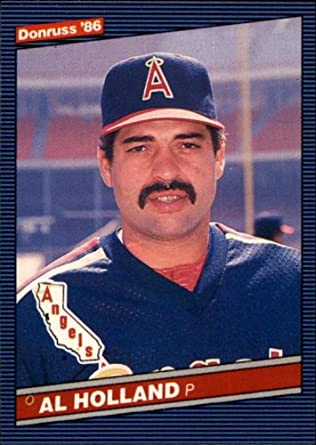 Amazoncom 1986 Donruss Baseball Card 573 Al Holland