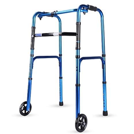 Andador con ruedas Caminador plegable para trabajo pesado con ...