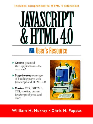 Javascript and Html 4.0 User's Resource