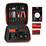 BZ Latest Version Coil Master V3 Electronic Cigarette DIY Tool Kit Portable Coil Winding Set Including 10 ft KANTHAL A1 Resistance Wire Organic Cotton 521 Tab Mini Ohm Meter