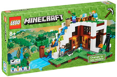"""Lego Minecraft 21134 """"The Waterfall Base"""" Building Set"""