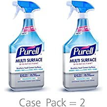 PURELL Multi Surface Disinfectant Spray – 28 oz. Spray Bottle (Pack of 2)
