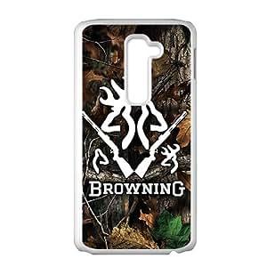 Browning White LG G2 case