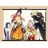 Home Decor Anime Boruto-Naruto The Movie Uzumaki Boruto Wall Scroll Poster Fabric Painting 23.6*17.7 inch 18