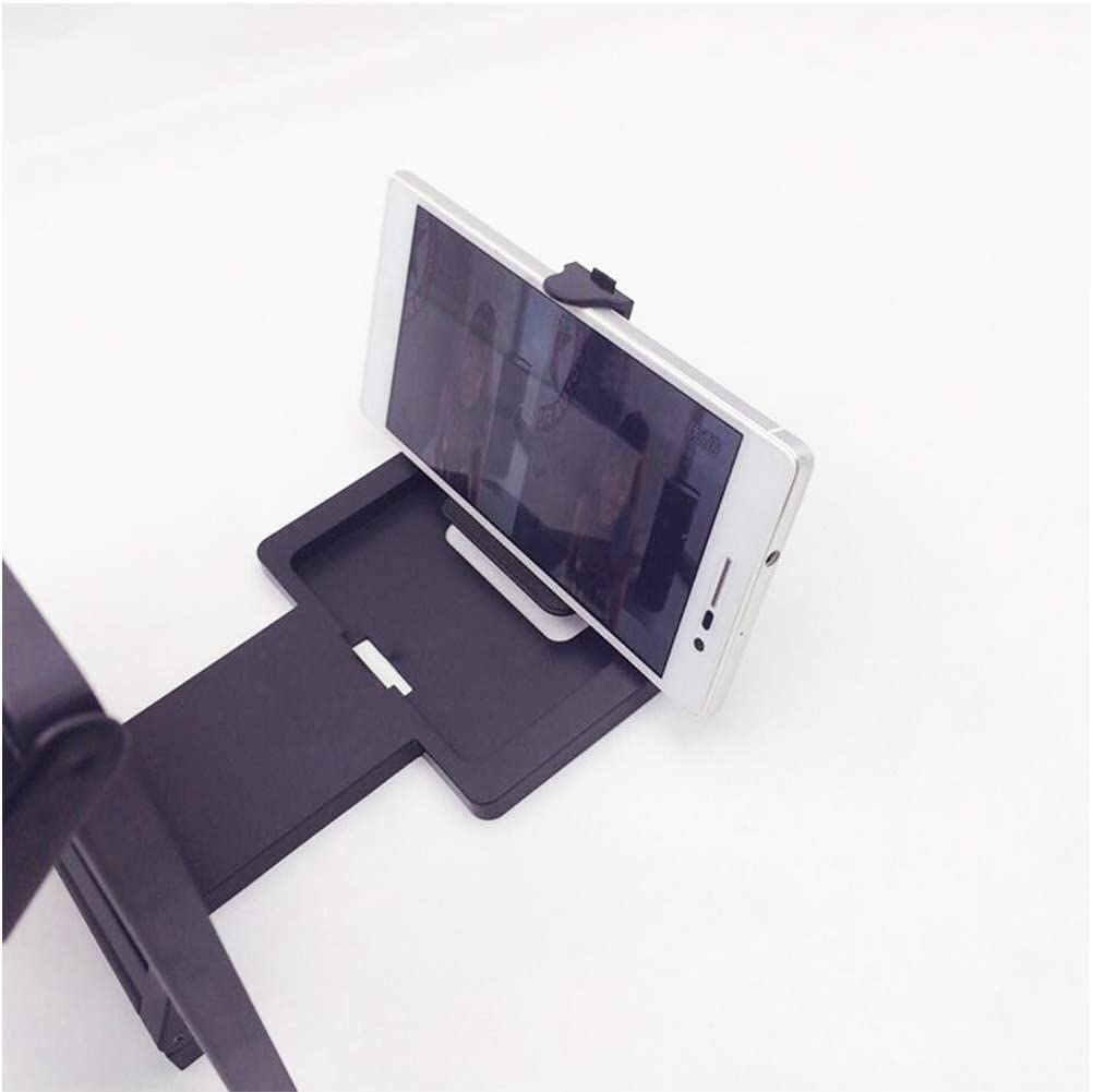 Handheld Magnifier 3D Mobile Phone Screen Magnifying Glass 7.8 inch Foldable Mobile Phone Holder Hd Movie Video Bracket for All Smartphones,Black,White Multipurpose Personal Magnifier