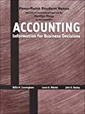 Accounting Information for Business 9780030224348