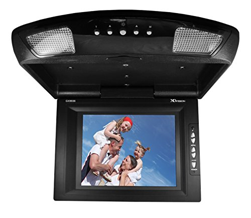 XO Vision GX9936 9-Inch Enhanced Resolution TFT Overhead Monitor (Black)