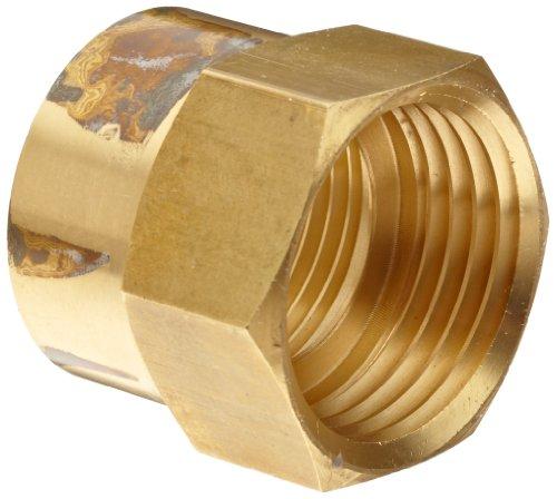 Anderson Metals Brass Garden Hose Fitting, Connector, 3/4