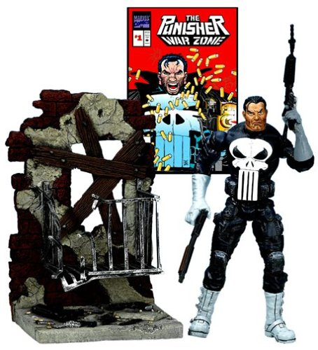 Toy Biz Marvel Legends Series 4 Punisher Action Figure
