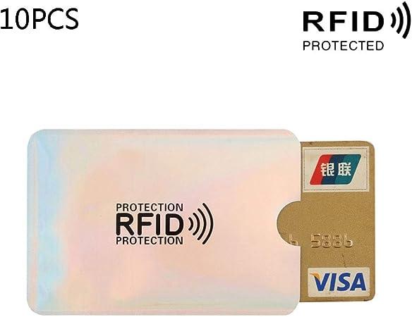JENOR Business Support de Carte de cr/édit Blocage RFID Manches Protector Shield Support Coque