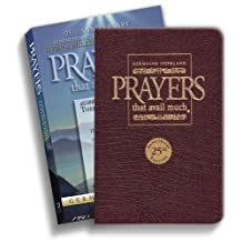 Prayers That Avail Much 25th Anniversary Commorative Burgandy Leather