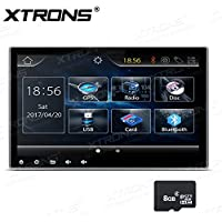 XTRONS Double 2 Din 10.1 HD Digital Touch Screen Car Stereo DVD Player Radio GPS Bluetooth