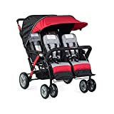 Foundations Infant Toddler Sport Splash 4 Passenger Quad Stroller -...