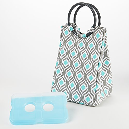 Fit & Fresh Fit & Fresh Retro Insulated Lunch Bag with Re...
