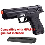 BBTac Mag Clip 2 Pack for Airsoft Crosman GFAP13 AEG Pistol Electric, Standard capacity Spare Mag