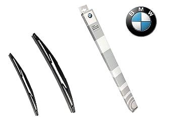 BMW Original Set de Limpiaparabrisas (61 61 9 de la ventana delantera 070 579): Amazon.es: Coche y moto
