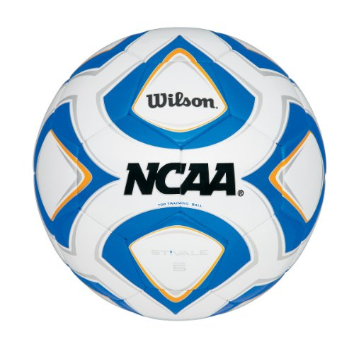 - Wilson Sporting Goods NCAA Stivale Top Training Soccer Ball (Size-5)