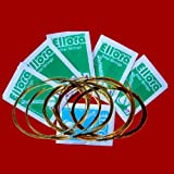 5 SETS - Ellora Indian Sitar String Set. 7 Main and 11 Sympathetic Strings, in Steel and Bronze
