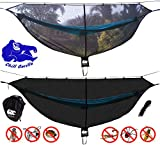 🔵 Chill Gorilla, a US-Based company. 100% Customer Satisfaction Rating! Beat Mosquitoes and Bugs. Sleep In Comfort! Lightweight Chill Gorilla Defender bug net sets up fast, is roomy, and keeps you bug-free! BACK-COUNTRY TESTED and BACKPACKER APPROVED...