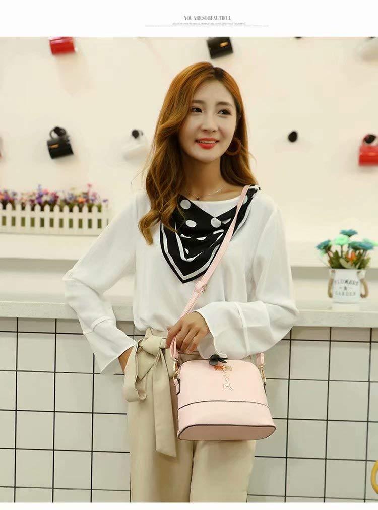 2018 Most Popular Women Vintage PU Leather Shoulder Bags Shell Model Handbag (25 * 10 * 19cm) Unknown