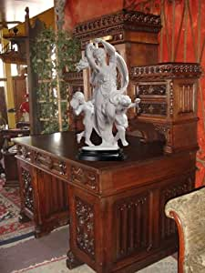 French Dancing maiden statue putti marble sculpture New