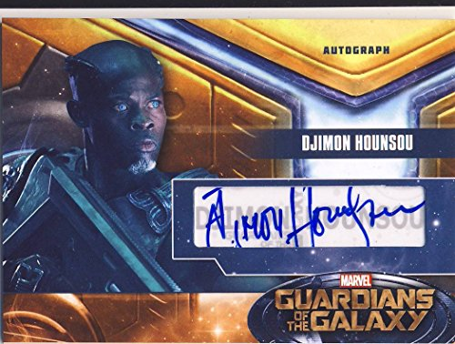 2014 Guardians of the Galaxy Trading Card Set Autograph Djimon Hounsou as Korath