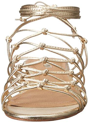 Tahari Women's Ta-Caper Wedge Sandal Gold oZTNO